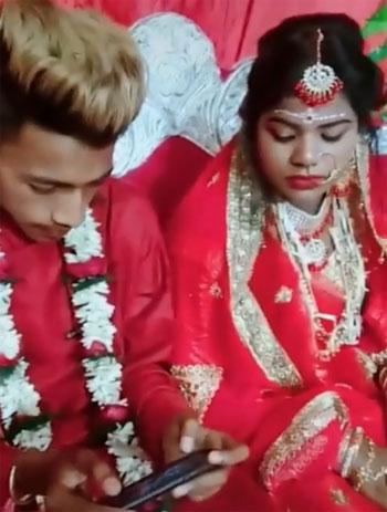 صدمة العروس