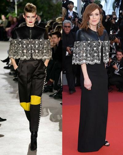 جوليان مور بتصميم  Louis Vuitton