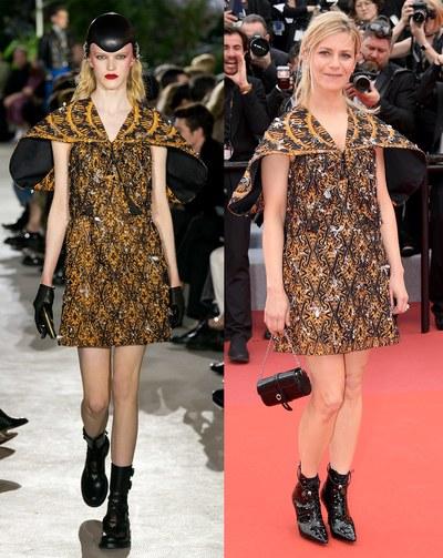 مارينا فوا بتصميم  Louis Vuitton_1