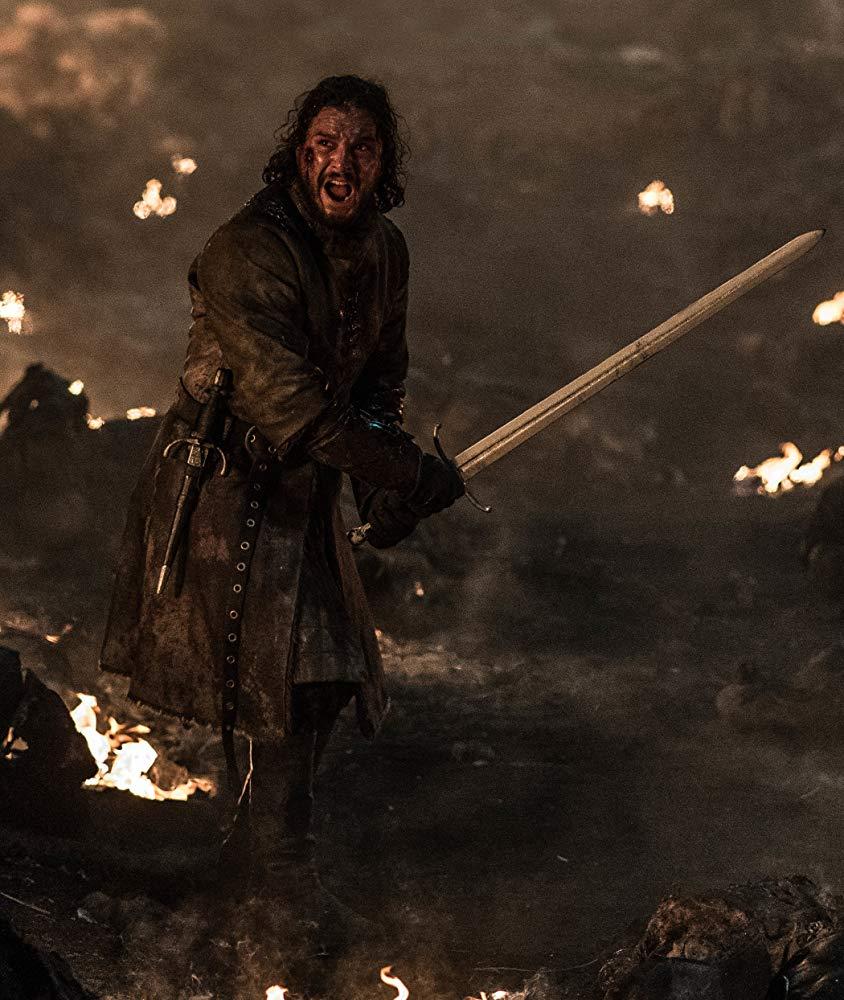 جون سنو خلال الحلقة الثالثة من Game of Thrones