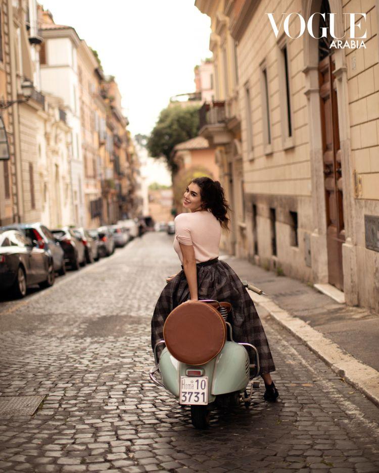 ياسمين صبرى فى روما