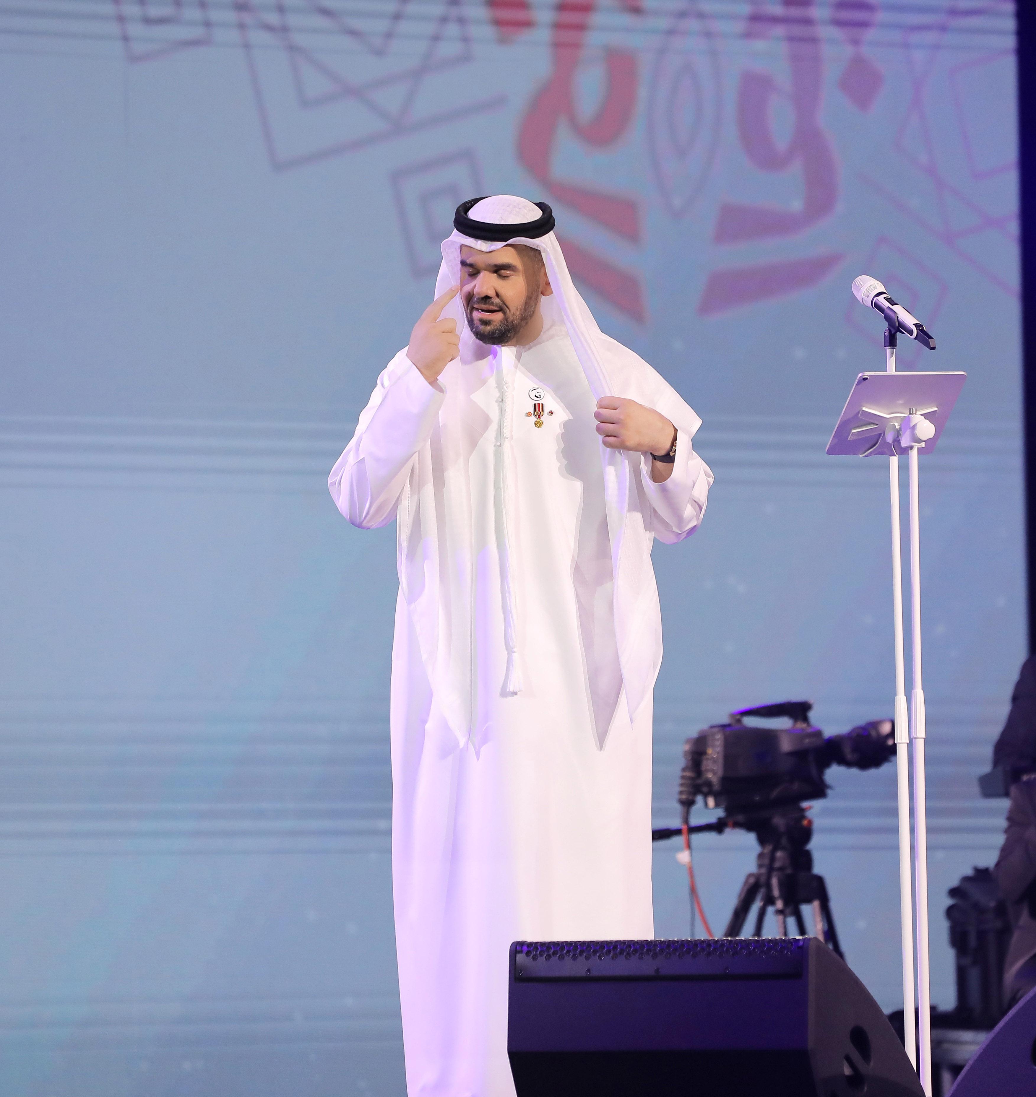 حسين الجسمى بحفل السعودية