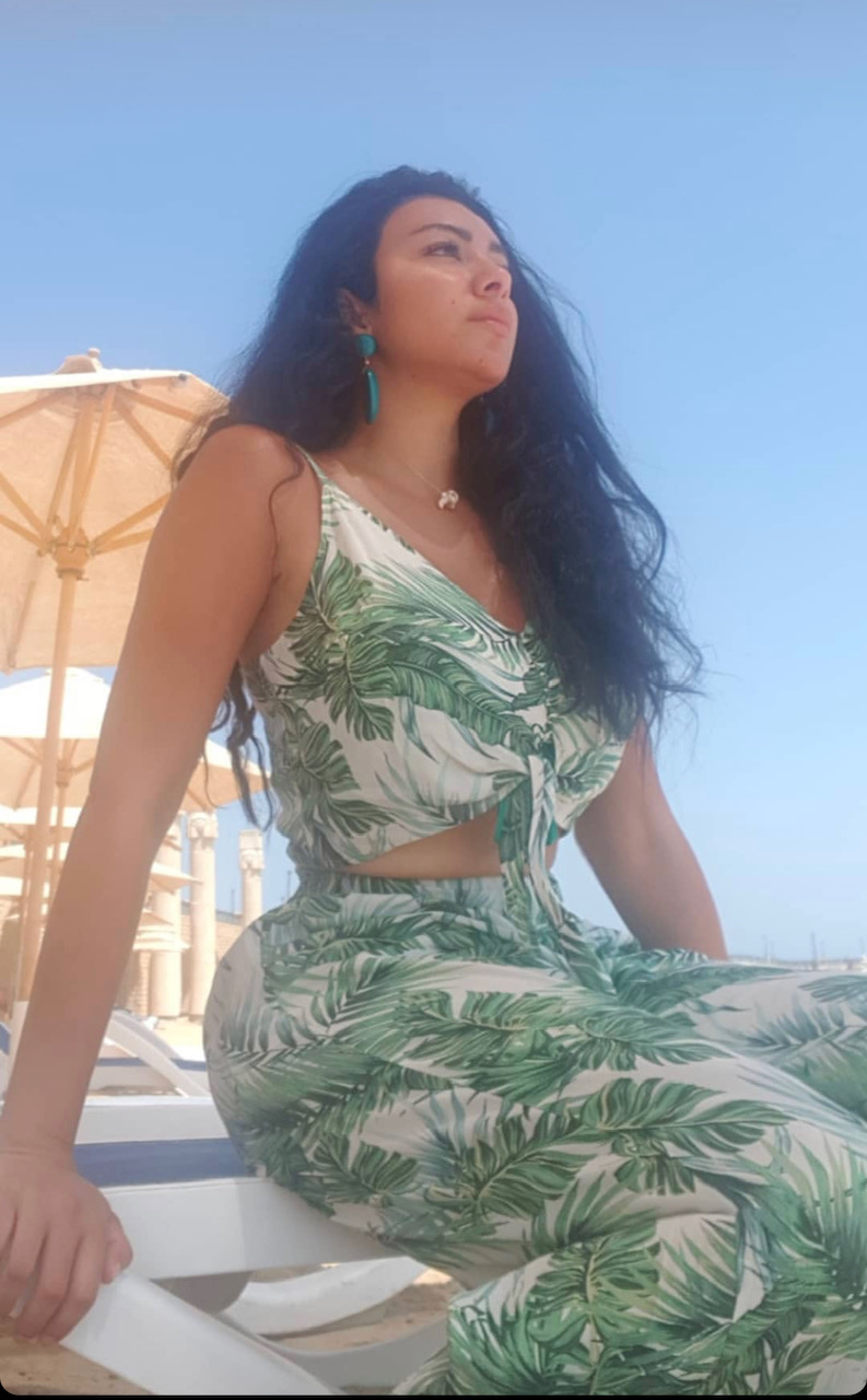 ميرهان حسن تقضى اجازة الصيف