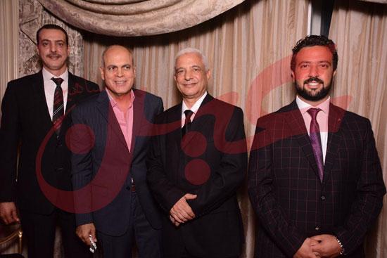 اللواء علاء متولى مساعد وزير الداخلية للمرور والعميد أحمد دبوس