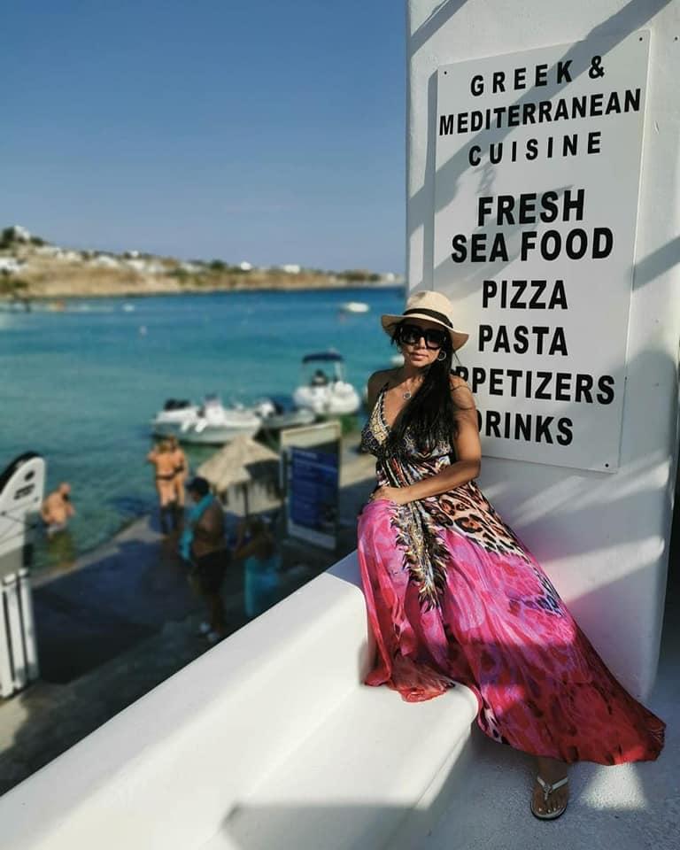 رانيا يوسف تستمتع باجازتها الصيفية
