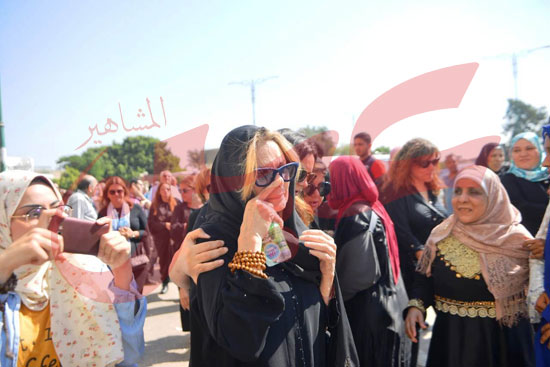 جنازة والدة الفنانة يسرا (59)
