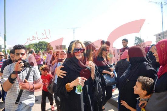 جنازة والدة الفنانة يسرا (39)
