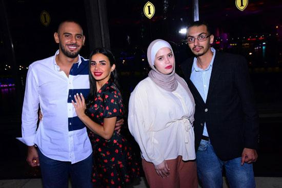 حفل إيهاب توفيق ودينا وشيبة فى رابع أيام عيد الأضحى (11)
