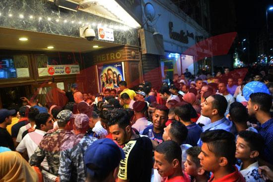 استمرار إقبال الجمهور على الفيل الأزرق وولاد رزق فى خامس أيام العيد (9)