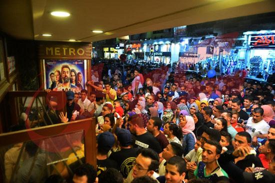 استمرار إقبال الجمهور على الفيل الأزرق وولاد رزق فى خامس أيام العيد (16)
