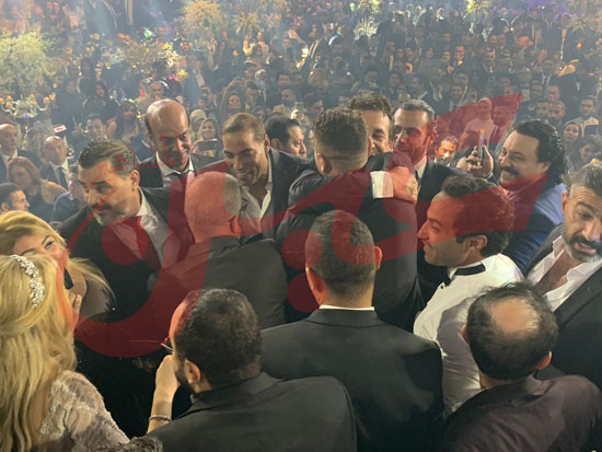 حفل زفاف أحمد فهمى وهنا الزاهد (1)