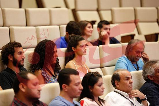 ندوة عن مناقشة ترميم الافلام تصوير كريم عبد العزيز تحرير محمد زكرياء (3)