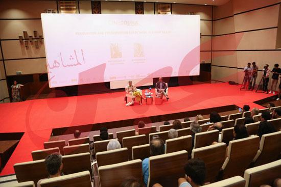 ندوة عن مناقشة ترميم الافلام تصوير كريم عبد العزيز تحرير محمد زكرياء (13)