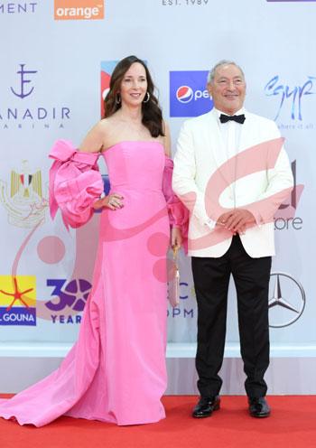 سميح ساويرس و زوجته