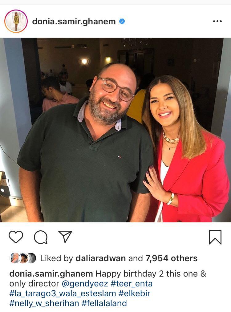 تغريدة دنيا سمير غانم