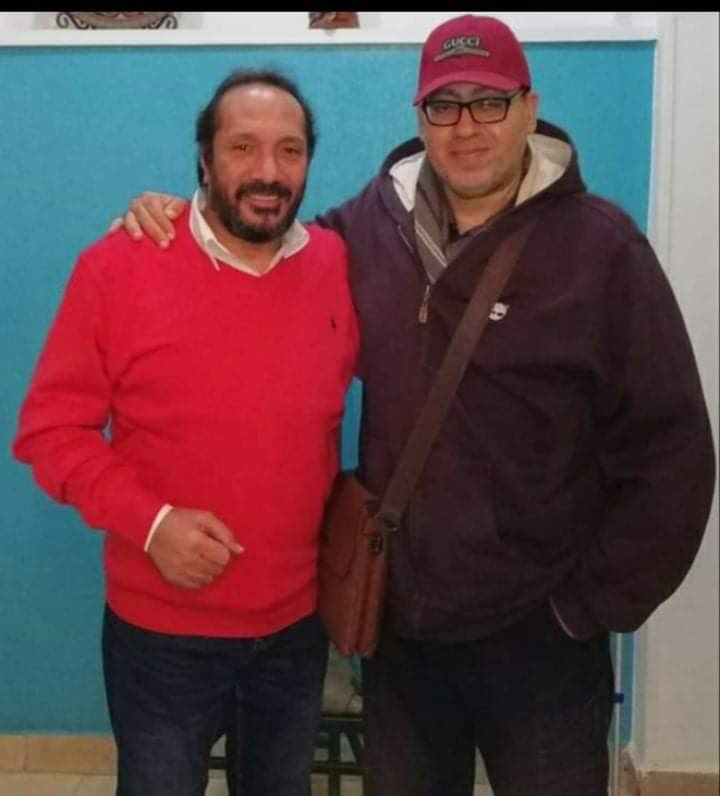 على الحجار والشاعر محمد جلال