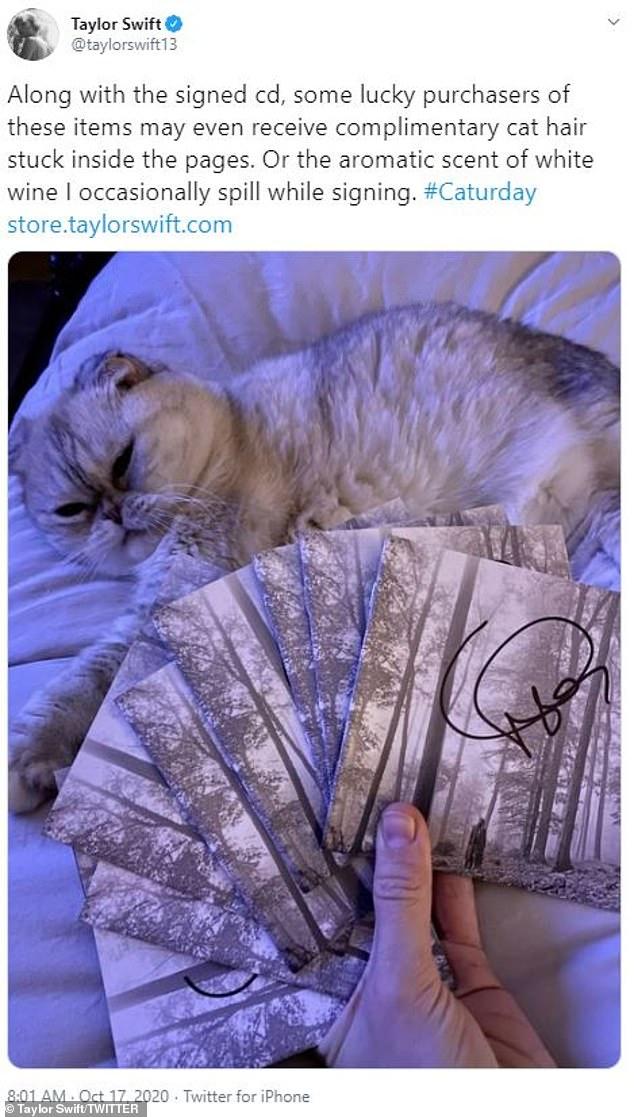 قطة تايلور سويفت (2)