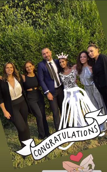 نيللى كريم  تحتفل بزفاف صديقتها (1)