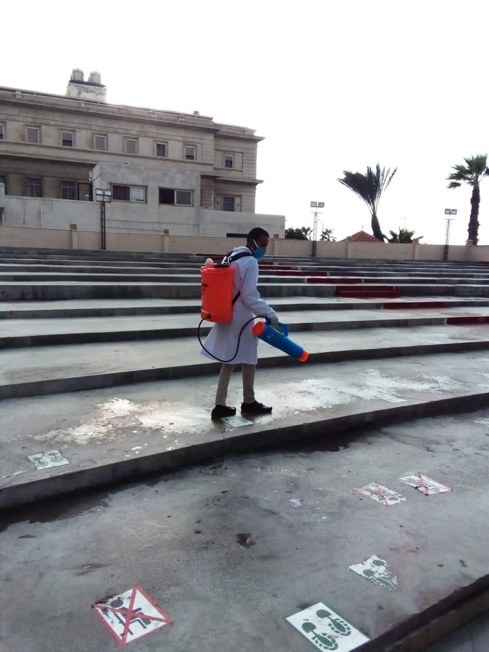 اجراءات احترازية مهرجان الإسكندرية السينمائي (3)