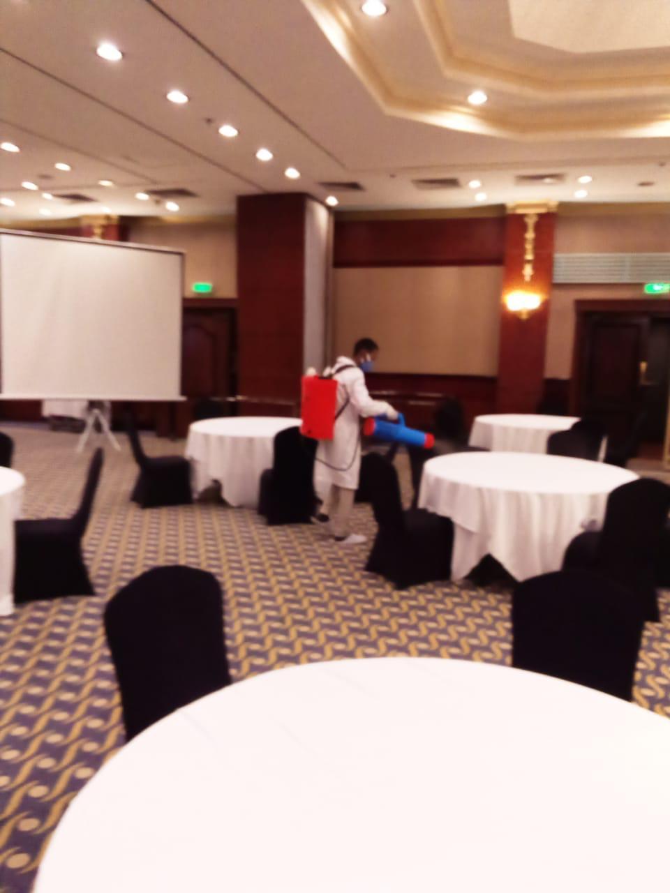 اجراءات احترازية مهرجان الإسكندرية السينمائي (7)