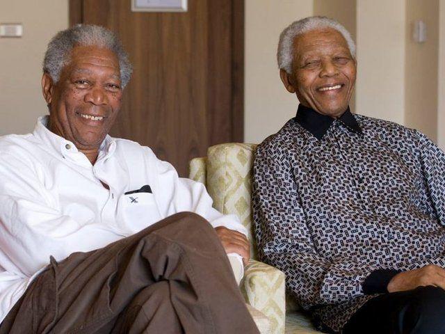 نجوم مثلو شخصية نيلسون مانديلا (2)