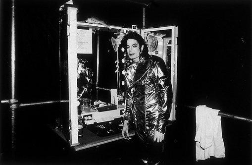 في كواليس جولته HIStory tour عام 1997