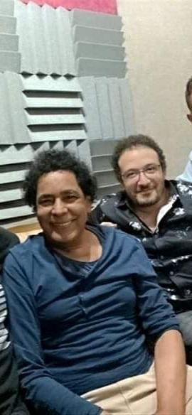 محمد منير والمنتج مصطفى اسماعيل