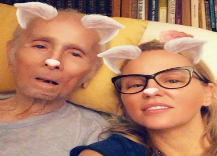محمود رضا وابنته شيرين رضا (3)