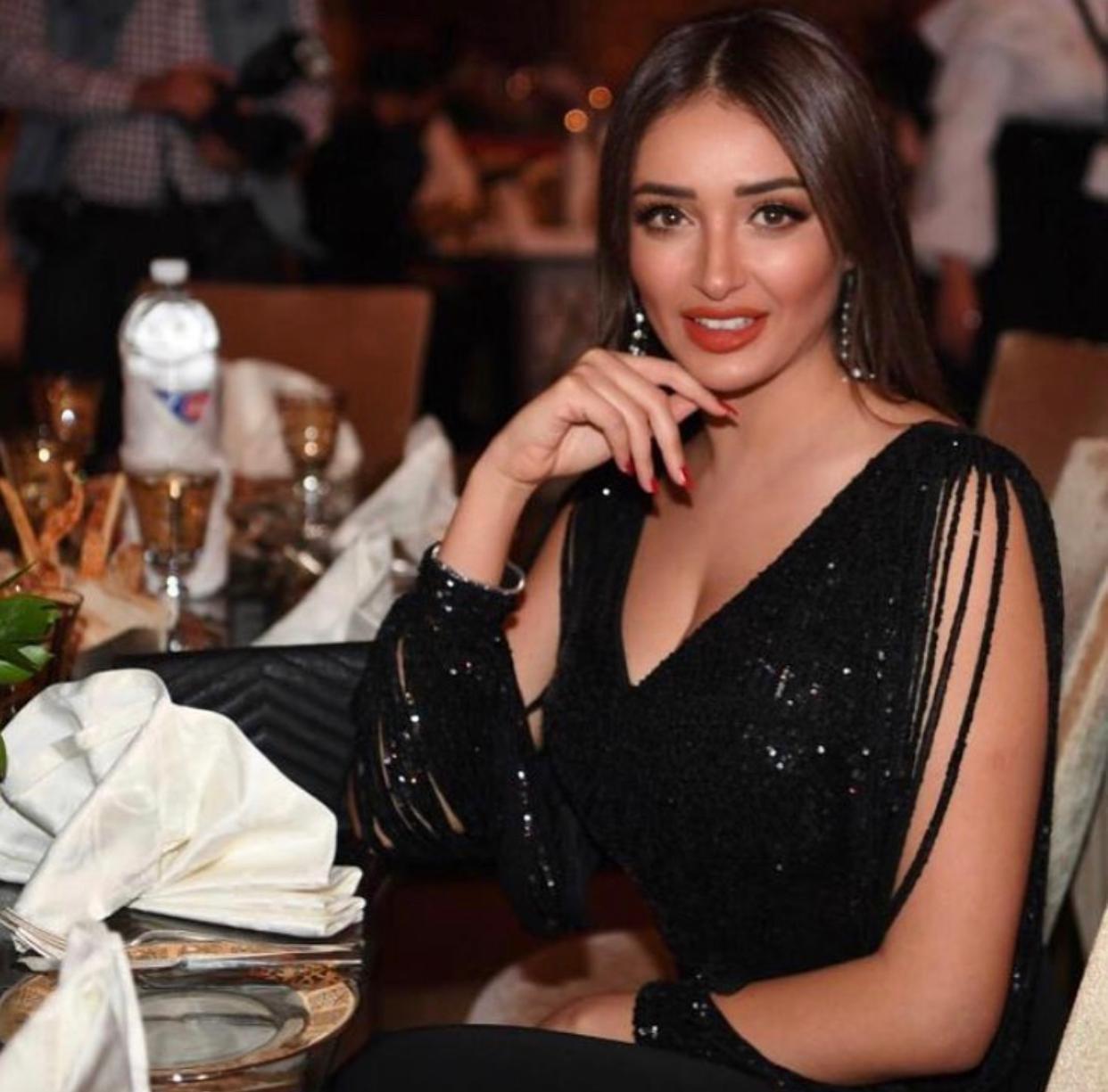 الممثلة التونسية صابرينا