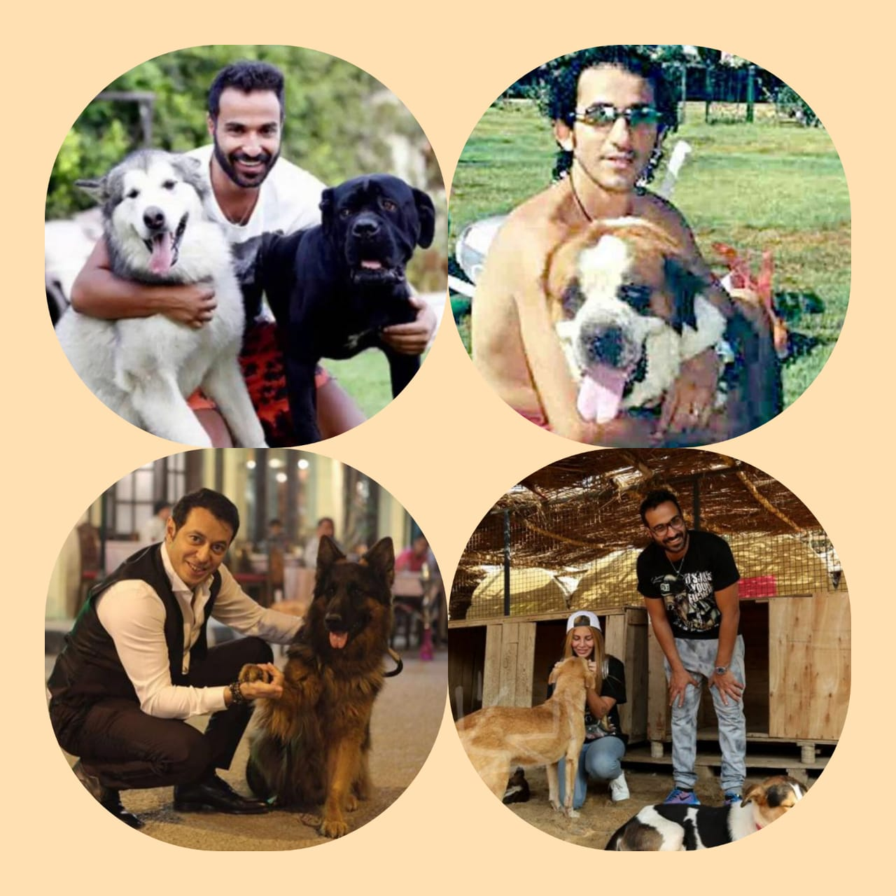 الفنانين وكلابهم (5)