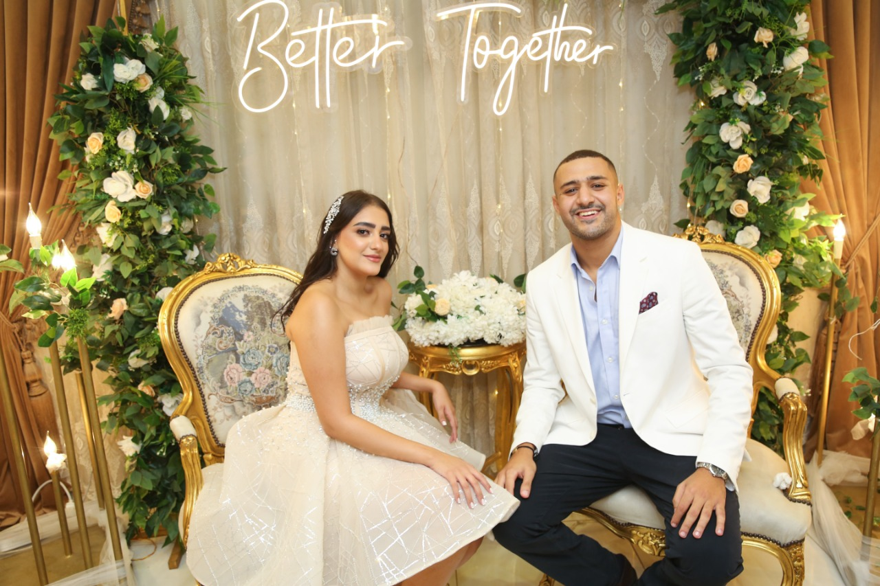 فرح مصطفى كامل وعريسها