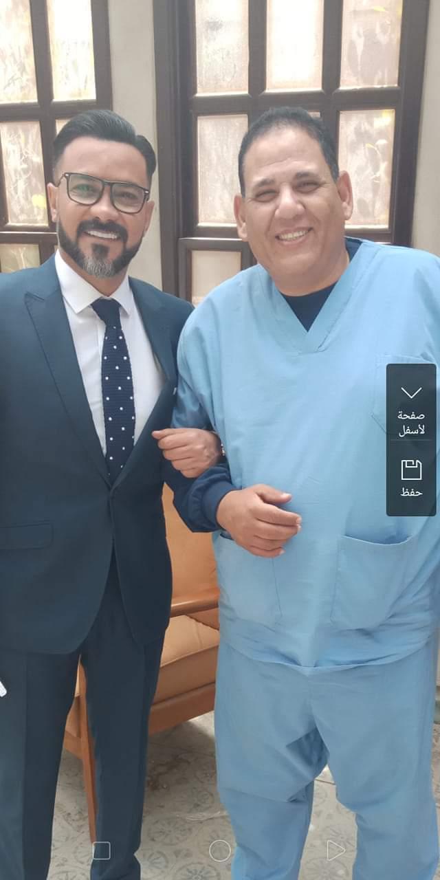 محمد رجب مع محمد الحو