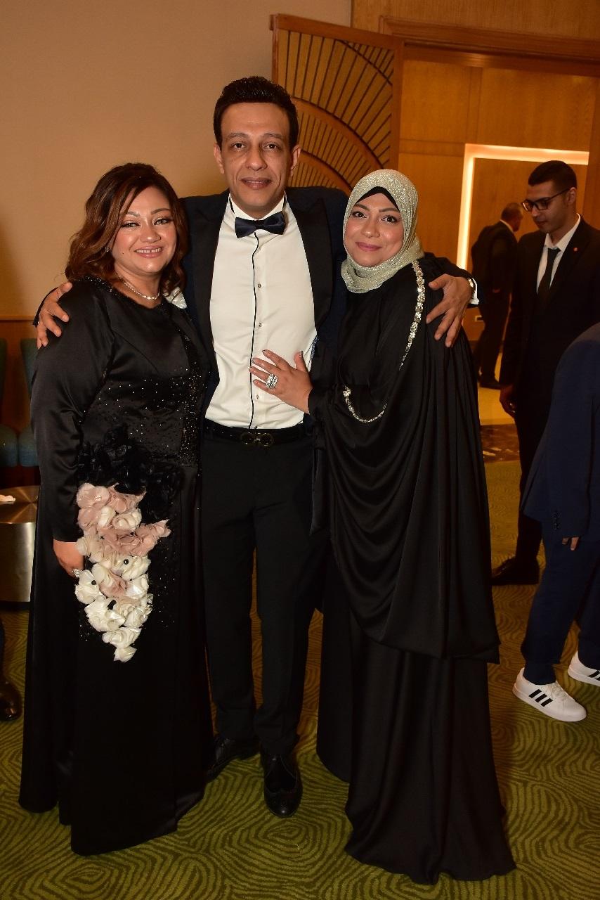 نجوم الفن والسياسة فى زفاف نجل السنونسى بلبع على كريمة حسن عيسى (2)