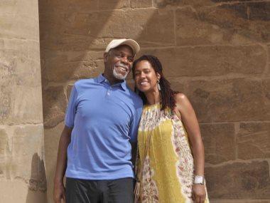 دانى جلوفر وزوجته