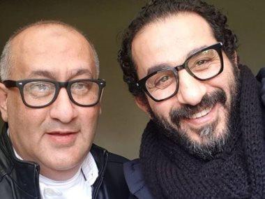 أحمد حلمى وشقيقه خالد