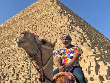 مايك تايسون فى الاهرامات
