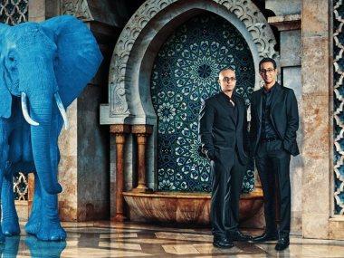 الفيل الازرق