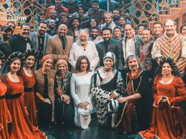 أسرة مسرحية الملك لير