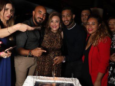 نهال عنبر تحتفل بعيد ميلادها