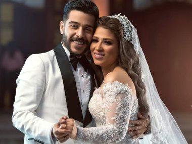 أحمد كامل وزوجته