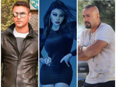 أحمد السقا وهيفاء وهبى وأحمد عز