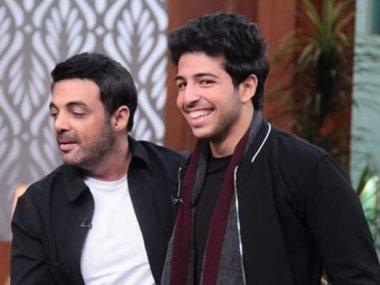 عمرو محمود ياسين وابنه محمود