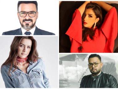 مى عمر ونور ومحمد رجب واحمد رزق