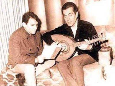 فريد الأطرش و عبد الحليم حافظ
