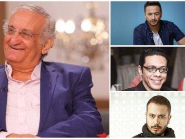 أحمد حلاوة وحمادة هلال ومحمد نجاتى وحمزة العيلي