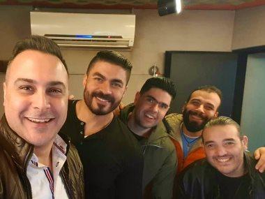 خالد سليم وشريف إسماعيل ومحمد البوغة