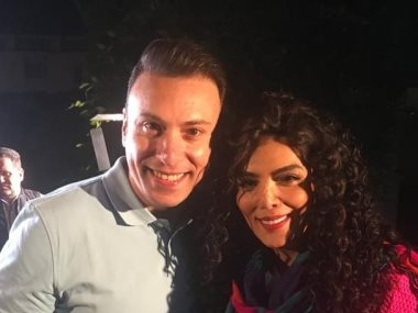 حورية فرغلى ومحمد السماحي
