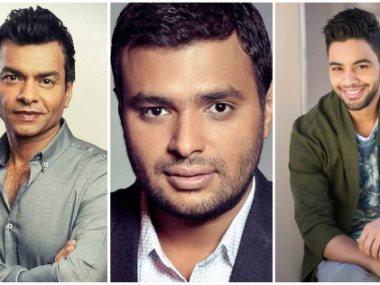 محمد محيى ورامى صبرى وأحمد جمال