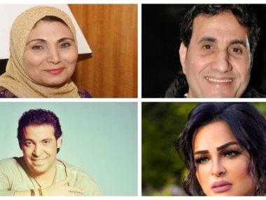 سعد الصغير وأحمد شيبة وفاطمة عيد وهدى
