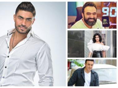 خالد سليم وهشام صادق وصابر الرباعى وسمية الخشاب